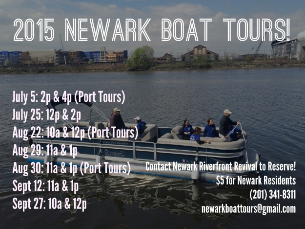 Newark Boat Tours 2015